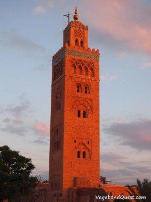 Maroko Marrakesh - Koutoubia Mosque