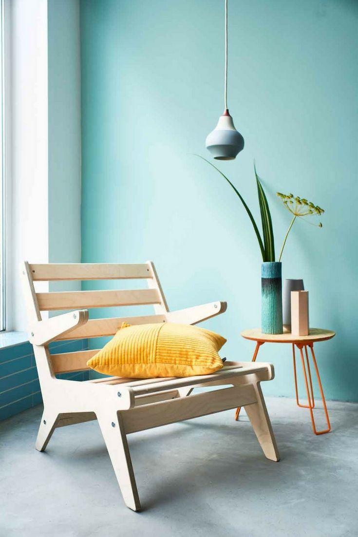 Bunte Farben bringen gute Laune in Ihr Zuhause! Ein gelbes Kissen kann verwendet werden, um …   – Home ideas