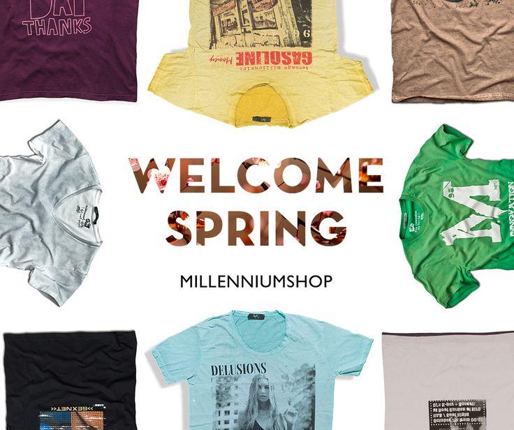 Μοντέρνα ανδρικά T-shirt για την άνοιξη και το καλοκαιρί από το #Millenniumshop : http://www.millenniumshop.gr/el/products/all/T-Shirts