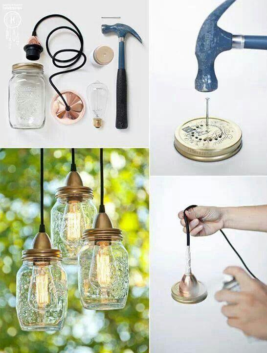 lampe diy originale