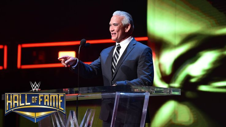 Ricky Steamboat gets cagey about Rick Rude: WWE Hall of Fame 2017 (WWE N...