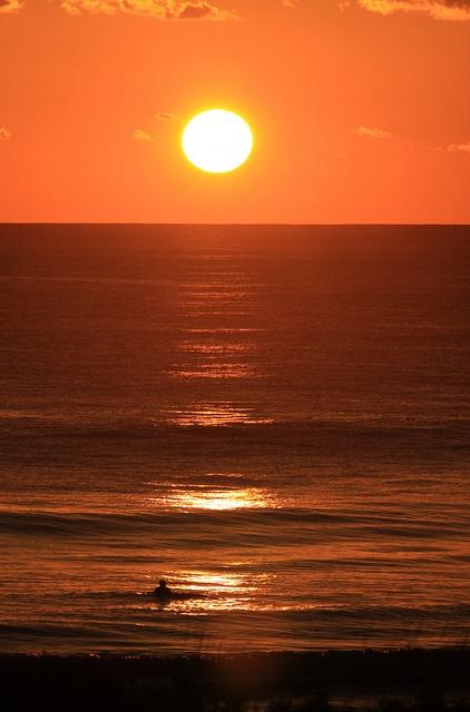Sunset at Triggs Beach Perth Australia