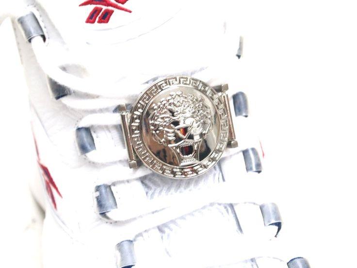 Metal Shoe Laces Locks for Jordan Kobe KD Sneaker Tiger | eBay