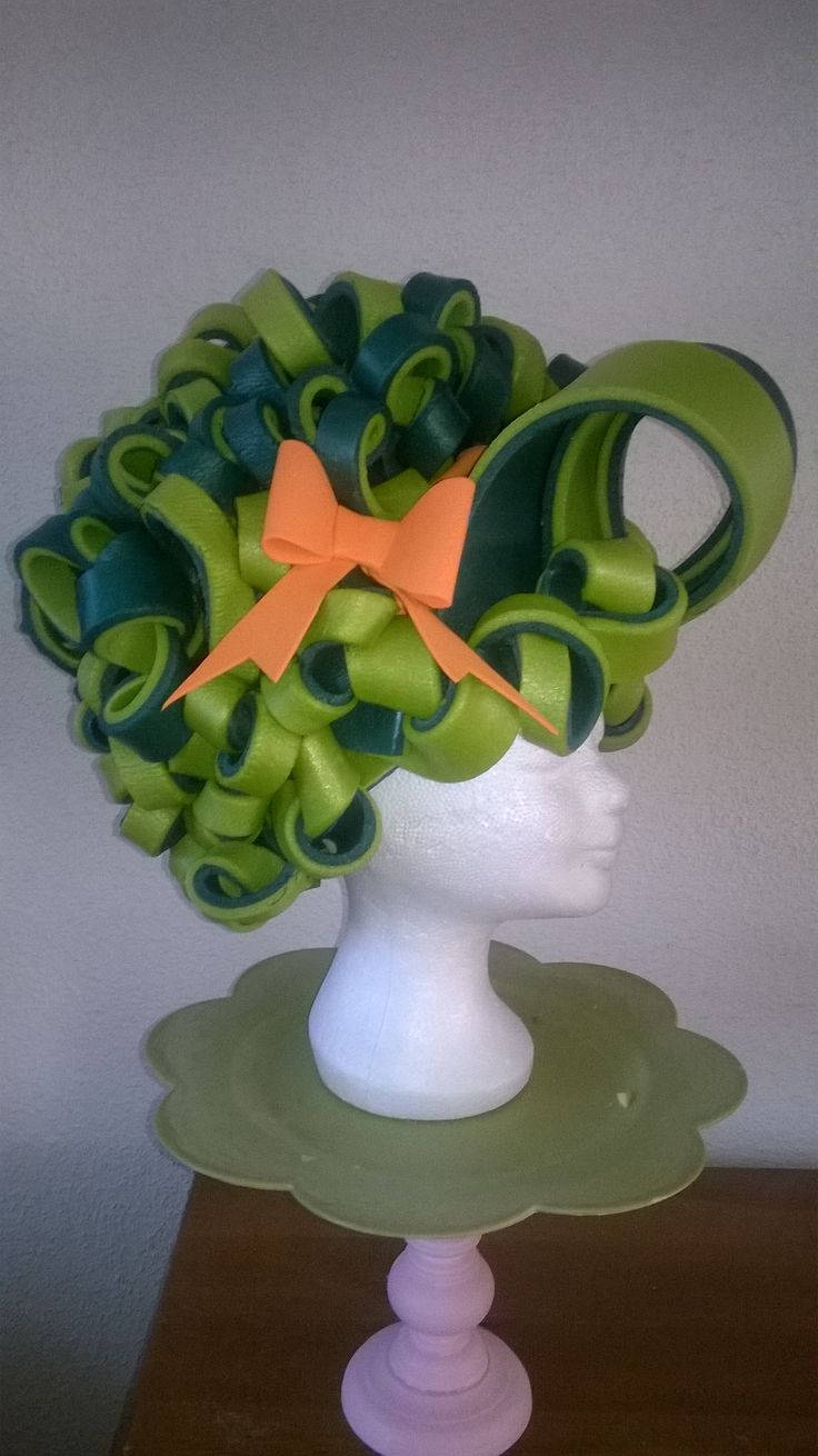 Foam wig made by Lady Mallemour