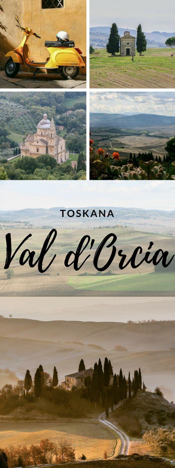Val d'Orcia – das malerische Paradies im Süden der Toskana