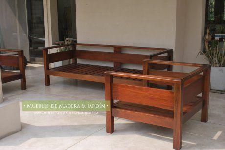 Sillones - Muebles de Madera y Jardín