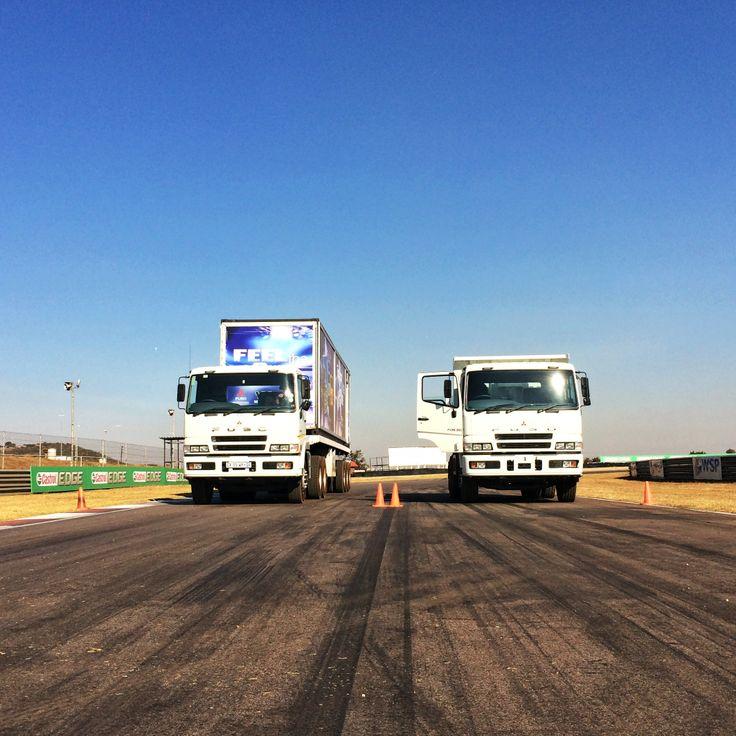 FUSO trucks at Customer Day in May #TalkTrucks
