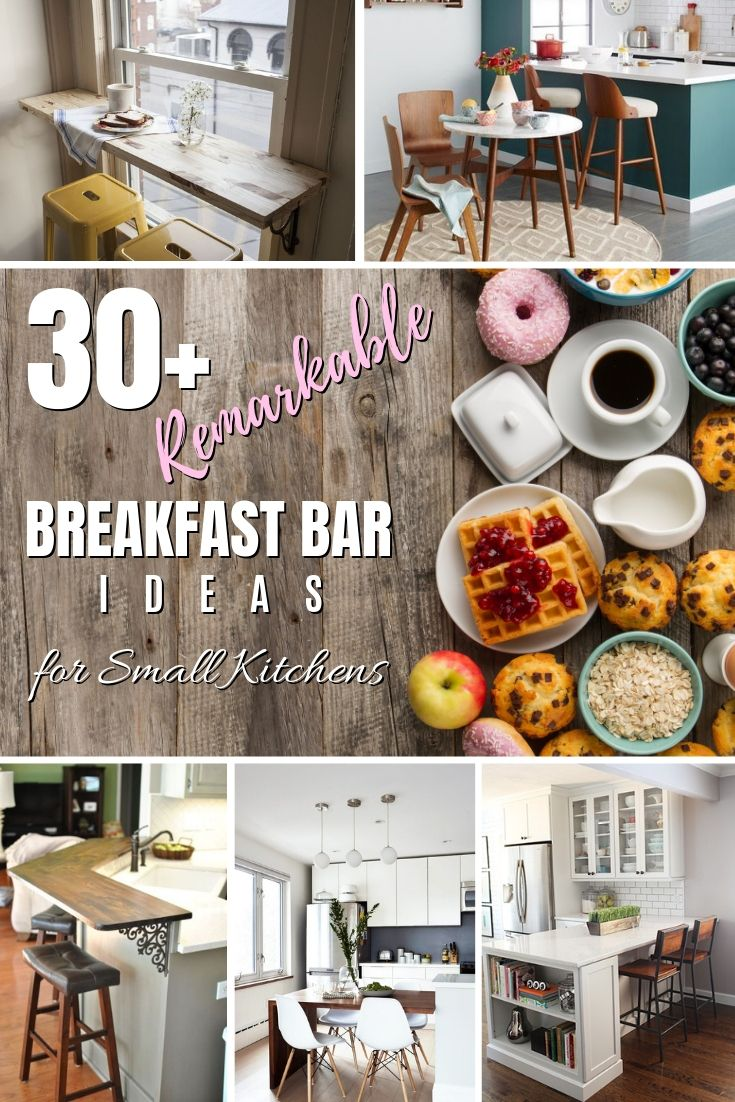 9+ Remarkable Breakfast Bar Ideas for Small Kitchens   Small ...