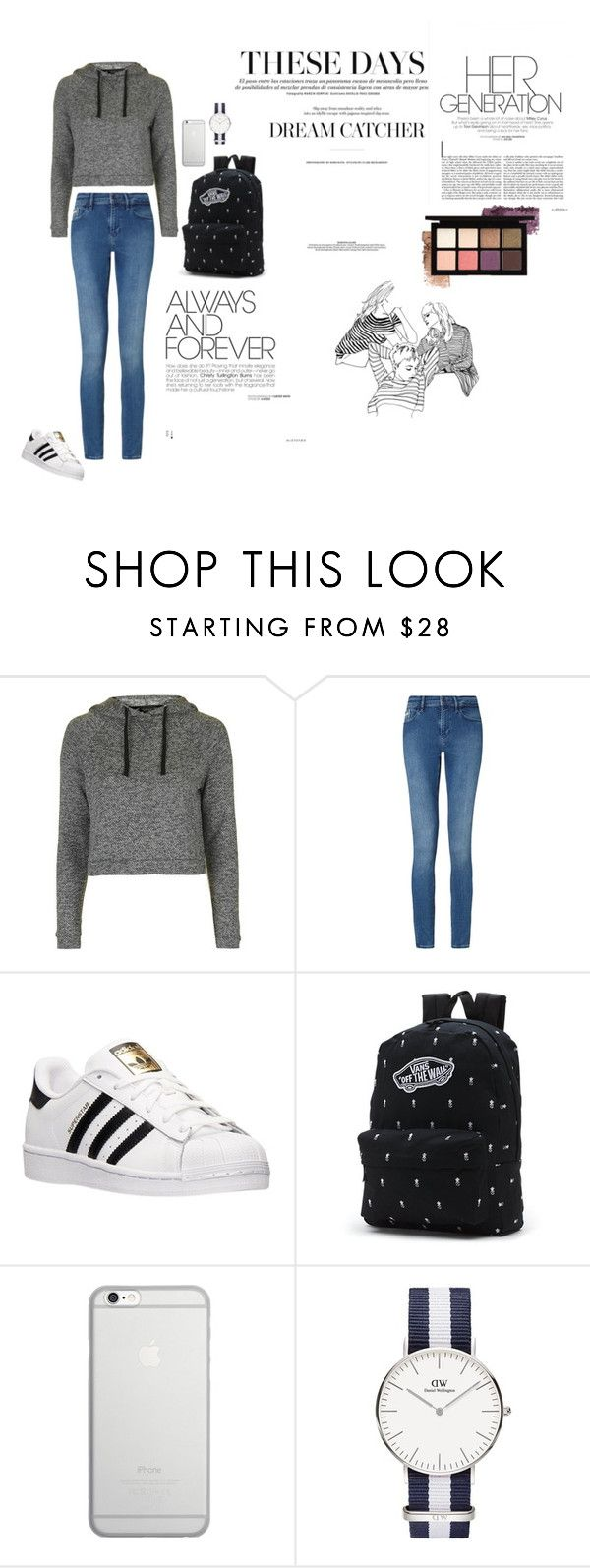 """ALWAYS"" by barbi2003 on Polyvore featuring Topshop, Calvin Klein, adidas, Vans and Native Union"