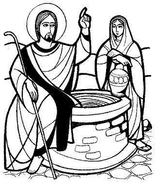 17 best images about samaritana on pinterest maze gel for Woman at the well coloring pages