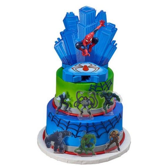 Marvel Spiderman haben keine Angst Cake Topper Decor Kit Geburtstag Party Supplies -TV3   – Products