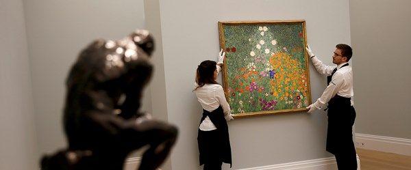 Klimt'in Çiçek Bahçesi rekor fiyata satıldı