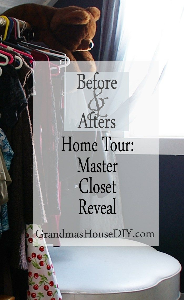 The master closet reveal after fifteen months of renovation my grandmas 100 year…