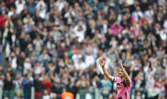 L'addio di Del Piero