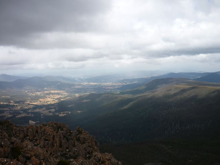 View from the top of Collins Bonnet
