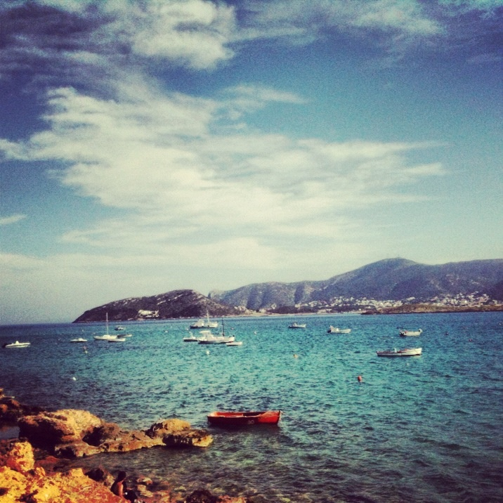 Porto Rafti, Greece just where I will be living for 3 months. a little excited!