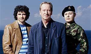 Iain Robertson, Bill Paterson and Barbara Flynn in Sea Of Souls