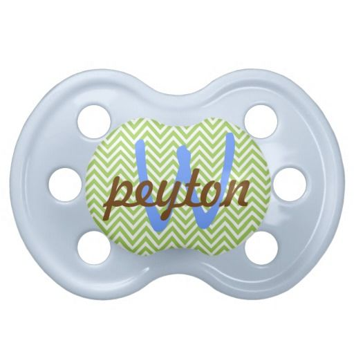Baby Boy Personalized Pacifier