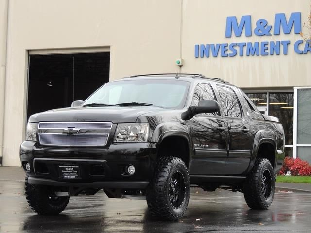 2013 Chevrolet Avalanche Lt Black Diamond 4wd Leather Lifted