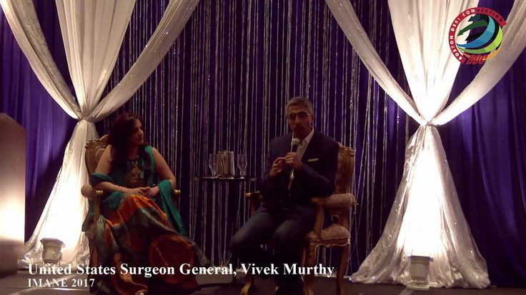 Surgeon General Vivek Murthy - IMANE 2017 , http://bostondesiconnection.com/video/surgeon_general_vivek_murthy_-_imane_2017/,  #TheSurgeonGeneraloftheUnitedStatesistheoperationalheadoftheU.S.PublicHealthServiceCommissionedCorpsandthustheleading