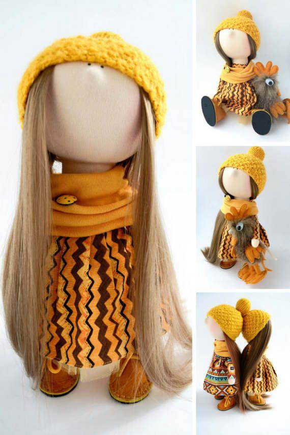 Tilda doll Interior doll Bambole Puppen Rag by AnnKirillartPlace