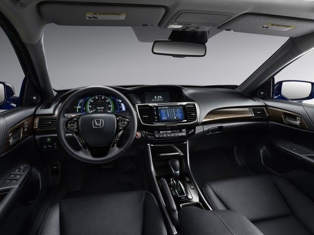2017 Honda Accord Hybrid preview (updated) #green, #honda #accord #hybrid #news, #honda #news, #hybrids, #mid-size, #preview, #sedan http://dallas.remmont.com/2017-honda-accord-hybrid-preview-updated-green-honda-accord-hybrid-news-honda-news-hybrids-mid-size-preview-sedan/  # 2017 Honda Accord Hybrid preview (updated) The 2017 Honda Accord Hybrid mid-size sedan was unveiled in April 2016—ending a one-year hiatus for a model that now offers the highest EPA gas-mileage ratings in the Honda…