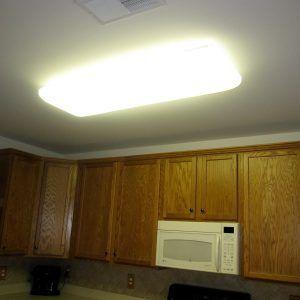 Fluorescent Lighting Fixtures For Kitchen