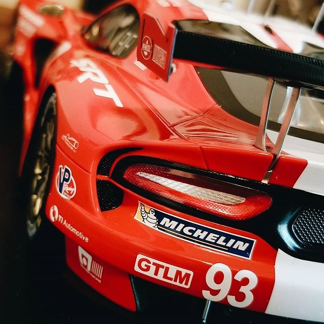 Model Monday on a Tuesday Holiday season workload keeping me from doing the new content I wanted to but here's a teaser of one of the new models I want to do an in depth review of. The Spark models GTLM Viper. Love the details and proportions on this car. I'm still 50/50 on non opening cars but it seems that doing them that way let's smaller companies have a crack at doing cars that may not have as broad appeal as an exotic or so on, so I'll bite. The detail on the spark models has proven to…