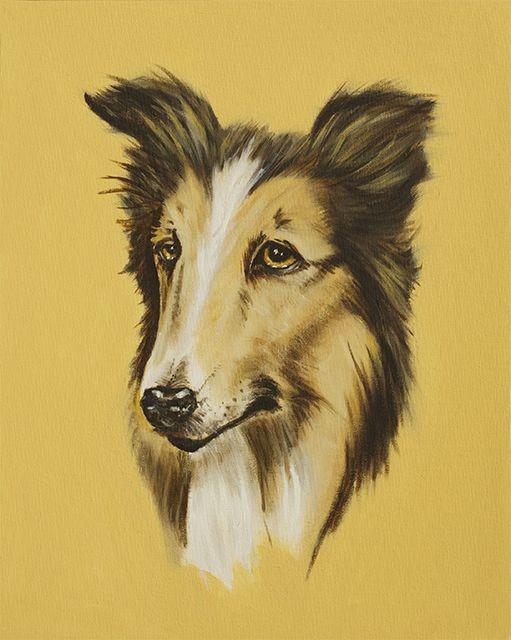 Lassie. Oil on canvas. Brock Banner. http://www.brockbanner.net