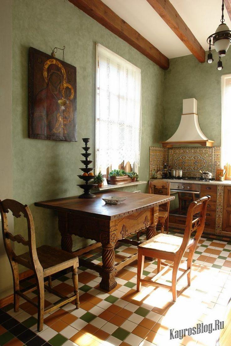 Русский стиль в интерьере современного дома #Русскийстиль #Русскийинтерьер #Русскийстильвинтерьере