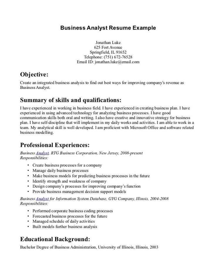 writing good resume objectives objective statement