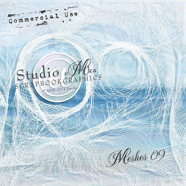 Meshes 09 - Commercial Use by Studio EMKA http://shop.scrapbookgraphics.com/Meshes-09-Commercial-Use.html