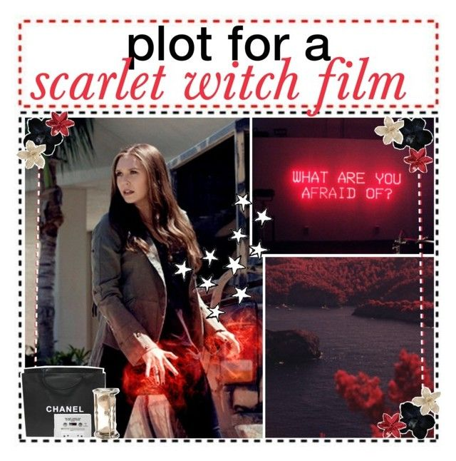 """""""Plot for a Scarlet Witch Film // Scarlet Witch"""" by marvel-geeks ❤ liked on Polyvore featuring art and soyouwannaplaywithmagic"""