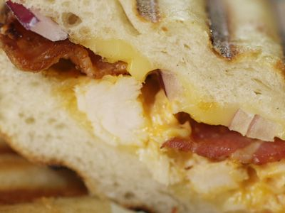 Try this recipe for Buffalo Chicken Panini from Kimberly's Simply Southern featured on GAC!