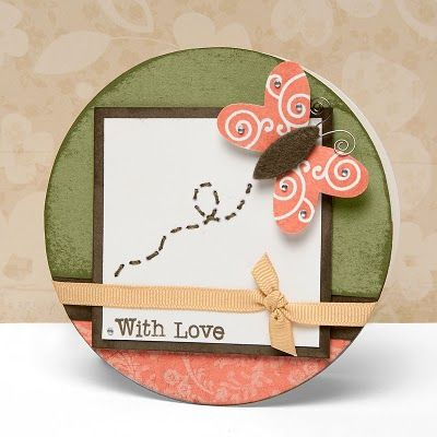 """With Love"" card idea from #CTMH.: Love Cards Ideas, Cards Scrapbook Ideas, Ctmh Cards, Cards Ctmh, Cards Tags, Cards Inspiration, Valentines Cards, Cards Lov, Cardsscrapbook Ideas"