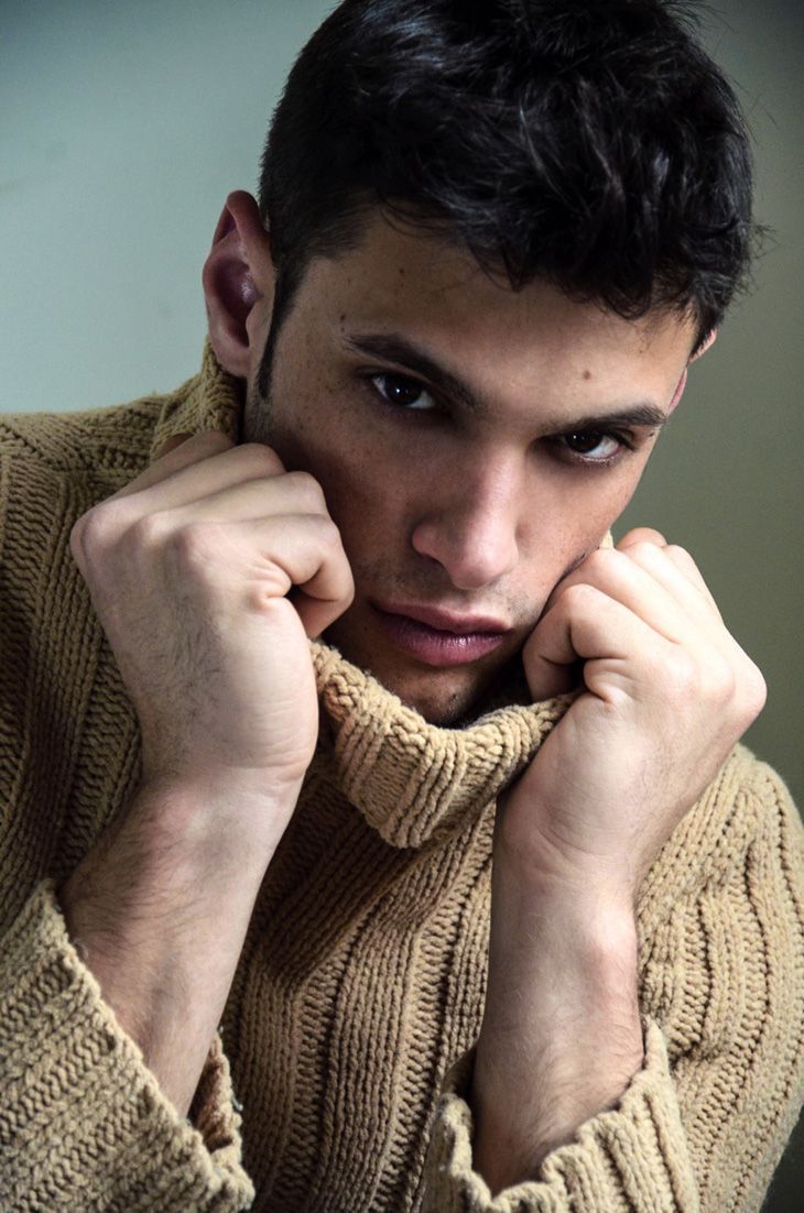 Greek Model Stelios Niakaris at Ford Models by Danny Lang exclusively for Male Model Scene