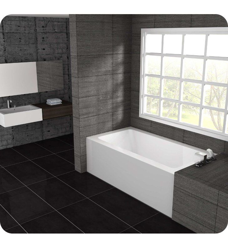 Guest Bathroom Ideas With Pleasant Atmosphere: Oceania Pure PU6030 Alcove Installation