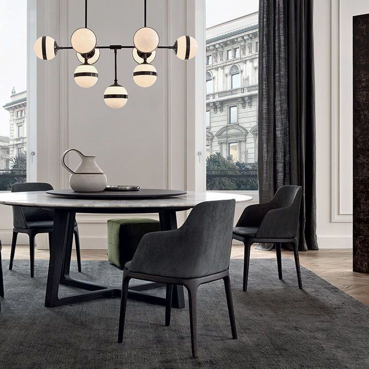 chaise de salle manger contemporaine en tissu en. Black Bedroom Furniture Sets. Home Design Ideas
