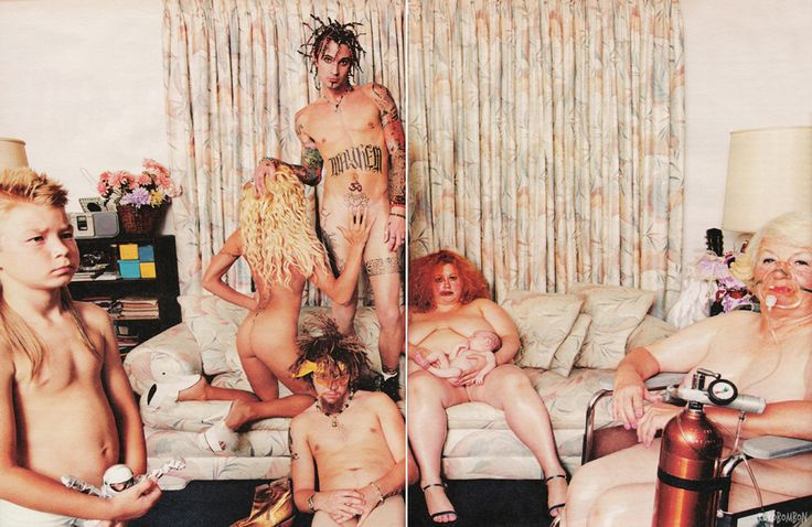 Tommy Lee & Pam Anderson by David LaChapelle