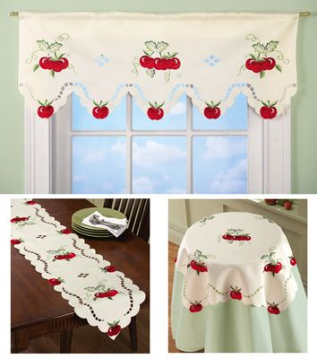 Apple Kitchen Decorative Linens From Collections Etc.