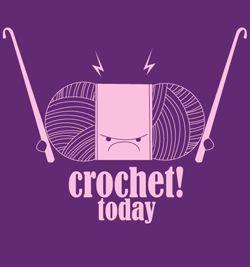 i will want crochet today! #crochet