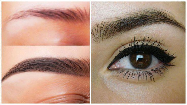 6 Remedios caseros para hacer crecer las cejas