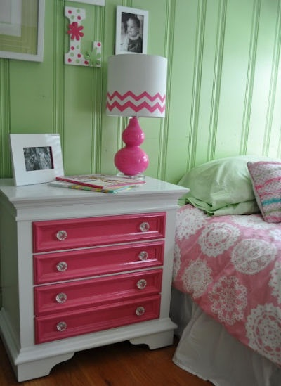 Cute colors for my guest bedroom.