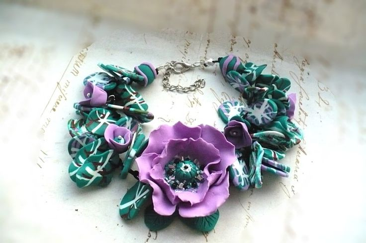 Chic violet poppie bracelet adjustable 15 euro