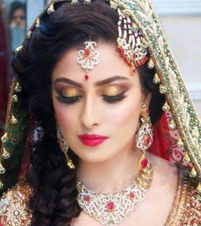Indian Bridal Makeup Looks Inspiration 1