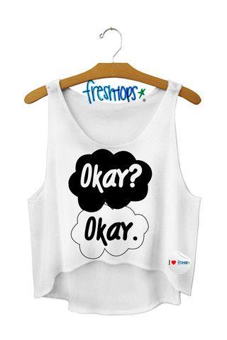Okay? Okay. Crop Top - Fresh-tops.com omg i want it i want it i want it. however i wish it was in blue