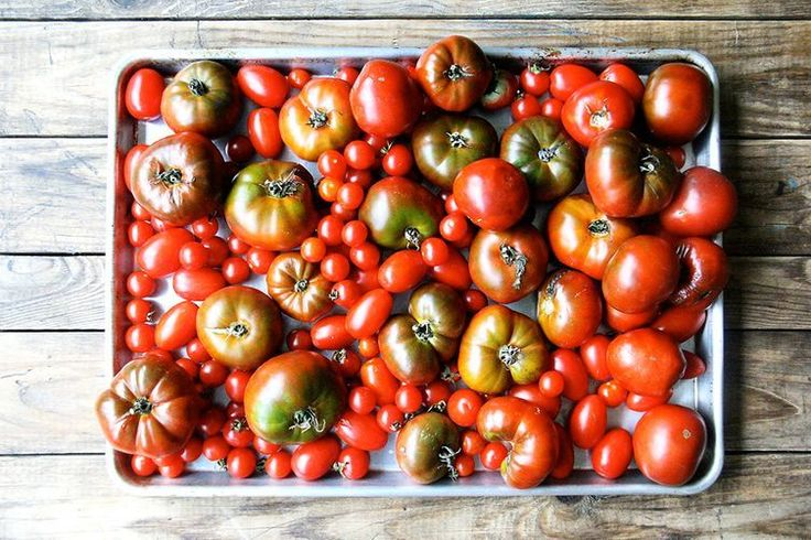 Red all the way through = good tomato. But is that always true?