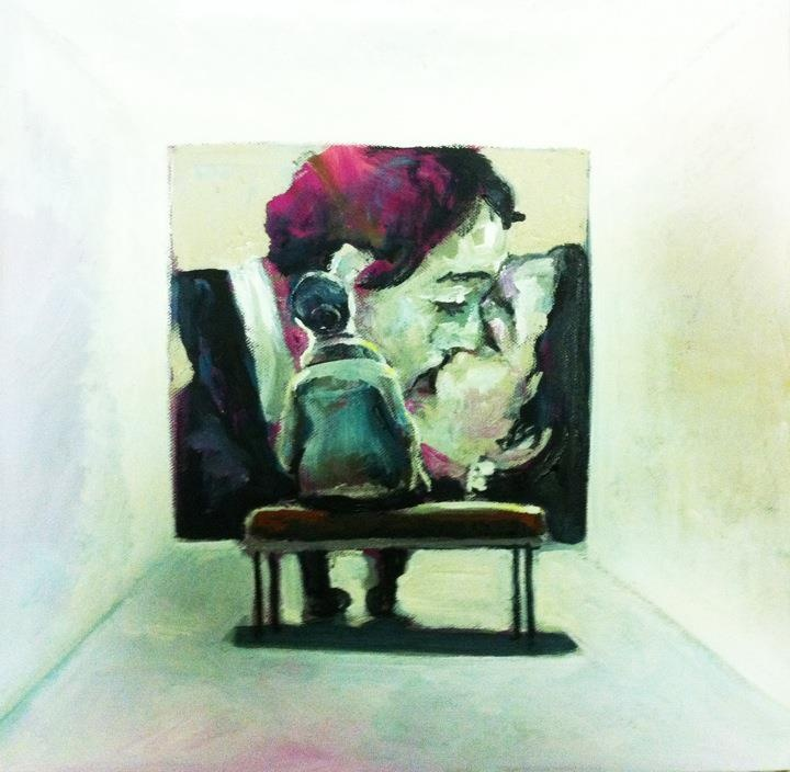 White Cube  40 x 40 cm  2011