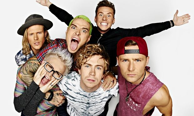 Dougie Poynter,Tom Fletcher,Matt Willis,Danny Jones,James Bourne and Harry Judd.