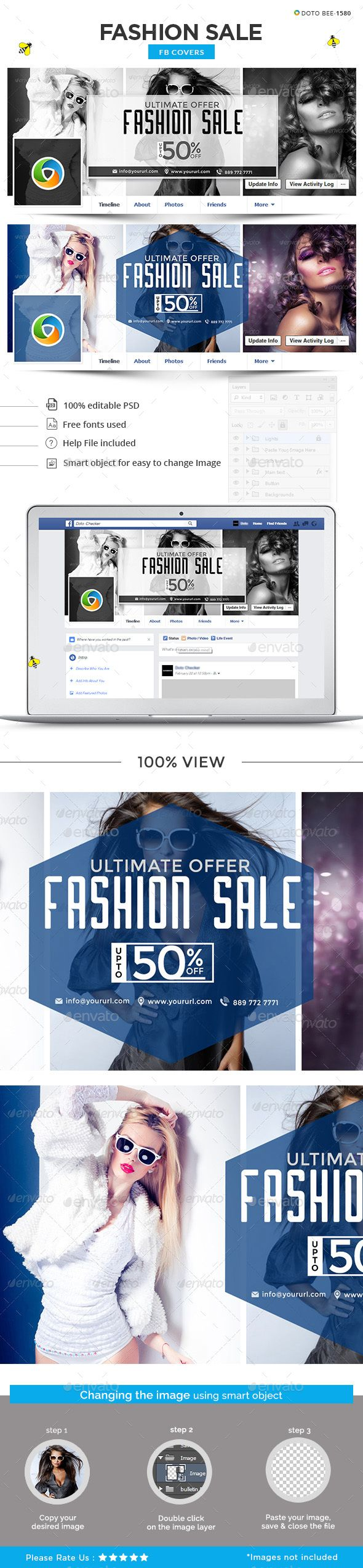 Fashion Sale Facebook Cover Template PSD. Download here: https://graphicriver.net/item/fashion-sale-facebook-cover/17228761?ref=ksioks